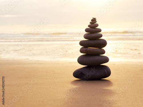 Keuken foto achterwand Stenen in het Zand Balance