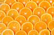 Leinwandbild Motiv Orange Slices Background