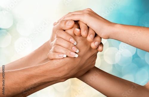 Obraz na plátně Respect. Teamwork