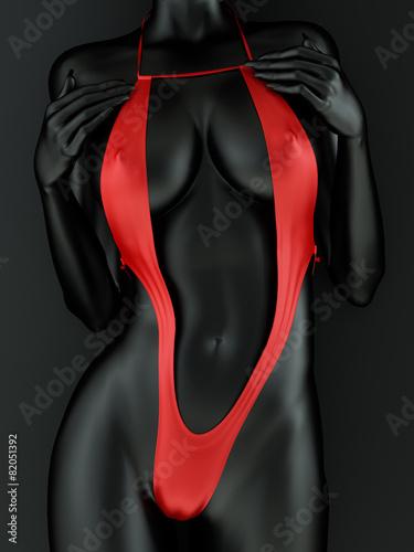 Female body metallic - 82051392