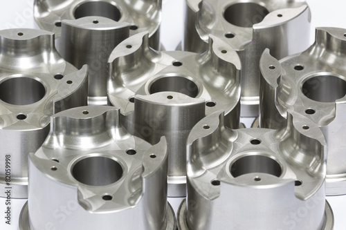 Fotografie, Obraz  mold and die parts machining by CNC