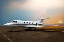 Private Jet Airplane Parking A...
