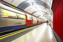 The Tube Arrives At The Station