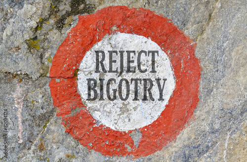 Photo Reject bigotry