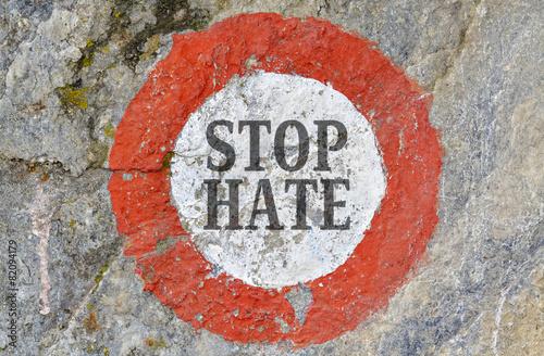 Stop hate Wallpaper Mural