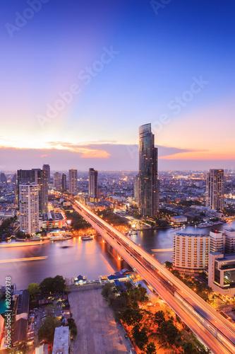 Bangkok Cityscape Poster