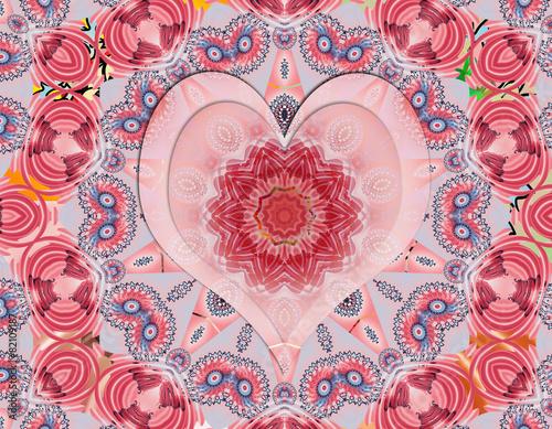 Photo  Love mandala