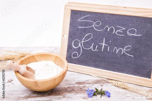 Farina senza glutine Canvas-taulu