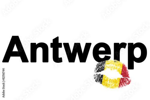Keuken foto achterwand Antwerpen Lieblingsstadt Antwerpen (favorite city Antwerp)