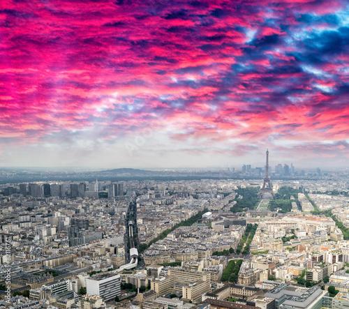 Poster de jardin Paris Paris, The Eiffel Tower