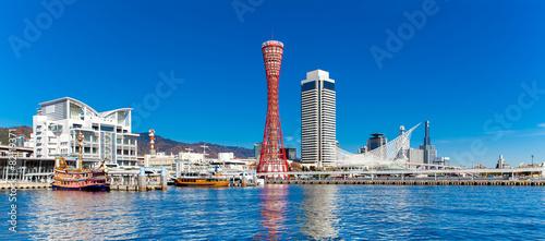 Foto auf Leinwand Tokio Panorama view of Kobe tower