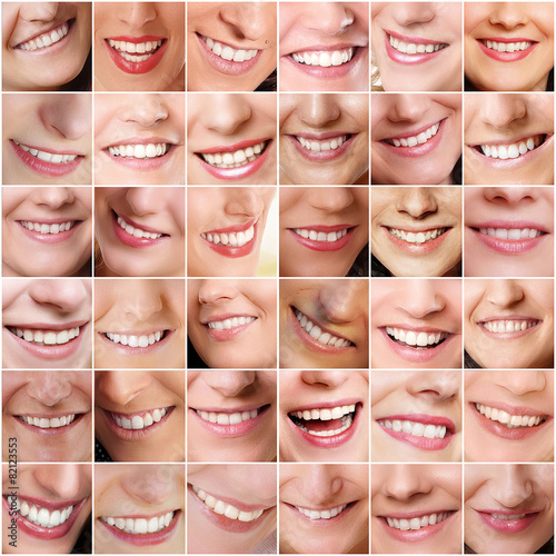 Fotografie, Obraz  lachende Personen