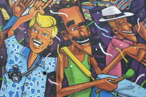 Photo Lapa Rio de Janeiro Brazil Graffiti