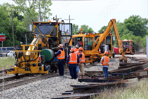 Railroad Railroad Track Repair