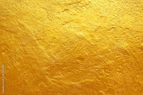 fototapeta na drzwi i meble złote tło tekstury cementu
