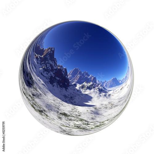 Photo sur Aluminium Fantastique Paysage Fantasy landscape