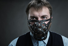 Man In Muzzle