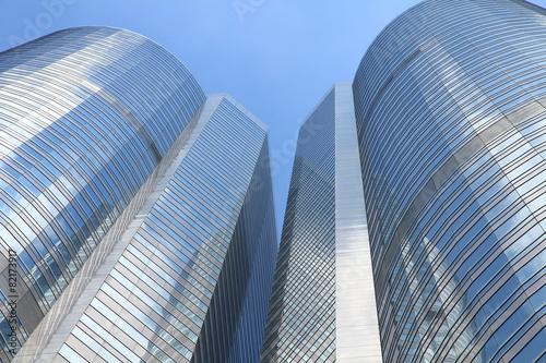 Photo  Office Buildings in Hong Kong