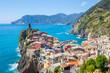 Vernazza fisherman village in Cinque Terre, Italy