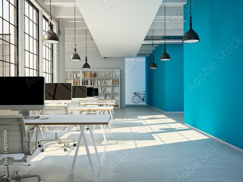 Photo Großraum Büro