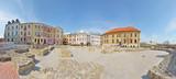 Fototapeta Miasto - Plac po Farze w Lublinie -Stitched Panorama