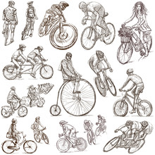 Cycling - Freehand Sketches, C...
