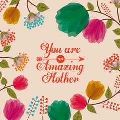 Panel Szklany Motywacje Mothers day design