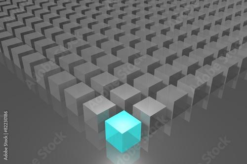 Fototapety, obrazy: Cubes concept