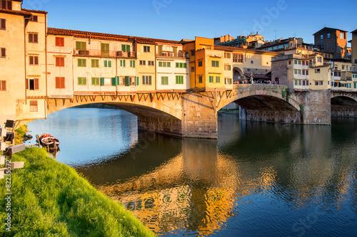 Deurstickers Florence Firenze - Ponte Vecchio