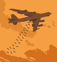 Heavy Bomber Dropped The Bombs