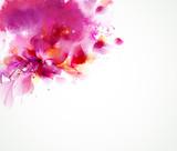 Streszczenie tło z elementami kwiatów i projektowania