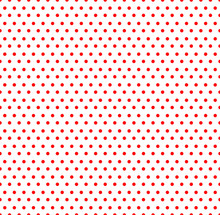 White And Red Pop-art, Polka Dot Seamless Background,  Seamless