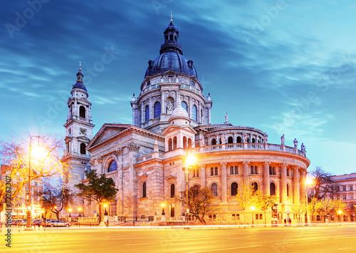 Fototapeta St. Stephen basilica in Budapest