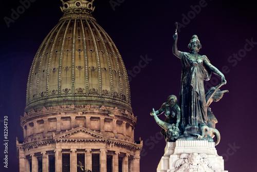 Keuken foto achterwand Buenos Aires Building of Congress - Buenos Aires, Argentina