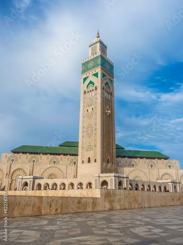 Third largest Mosque Hassan II in Casablanca Morocco