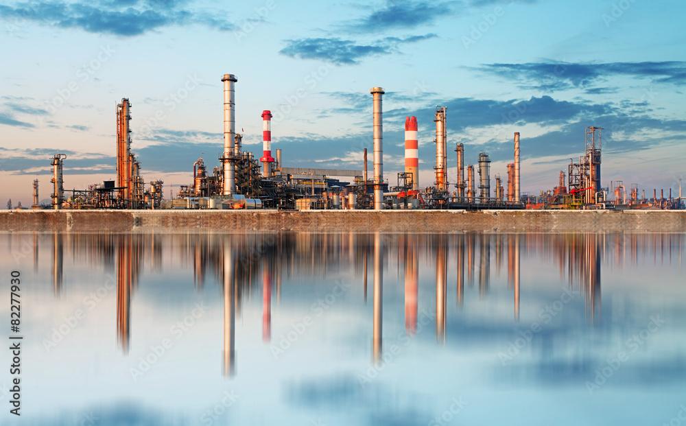 Fototapety, obrazy: Inustry - Oil Refinery, Petrochemical plant