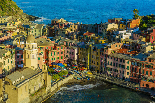 Fototapety, obrazy: Cinque Terre, Vernazza - Italy