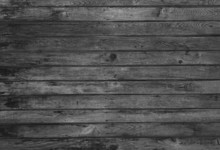 Grunge Black And White Wooden Wall