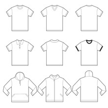 White Shirts Template