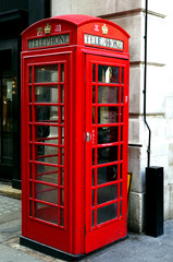 Panel Szklany Popularne cabine téléphonique