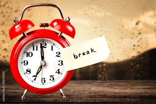 Fotografie, Obraz  Break. Clock
