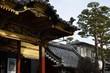 Alte Bauten an der Nakamise Straße am Zenko-ji Tempel, Nagano