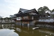 Historische Bauten am Zenko-ji Tempel in Nagano, Japan