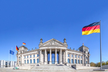 Fototapeta Berlin Deutscher Reichstag Berlin