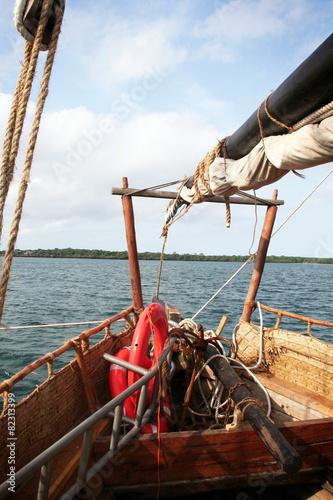 Foto  Proue bateau Kenya