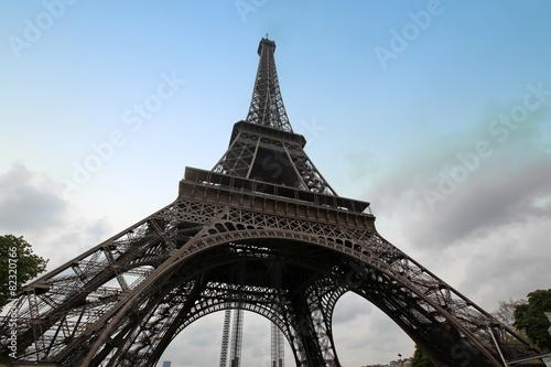 Fototapeta Eiffel Tower in Paris, France obraz na płótnie