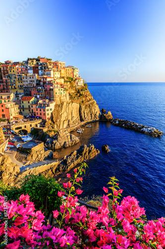 Cinque Terre, Italy. Poster