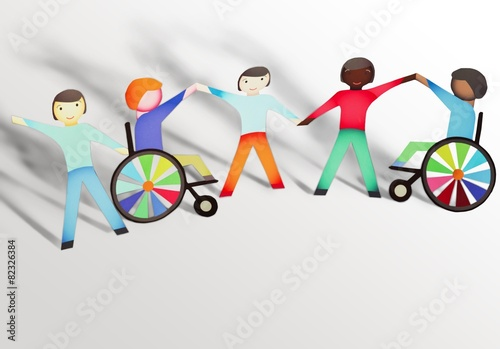 children's concept on disability A disability is an impairment that may be cognitive, developmental, intellectual, mental, physical, sensory, or some combination of theseit substantially affects a person's life activities and may be present from birth or occur during a person's lifetime disabilities is an umbrella term, covering impairments, activity limitations, and participation restrictions.