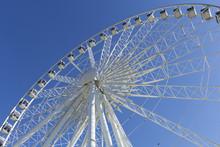 Niagara Falls Skywheel On Blue...