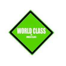 World Class White Stamp Text O...